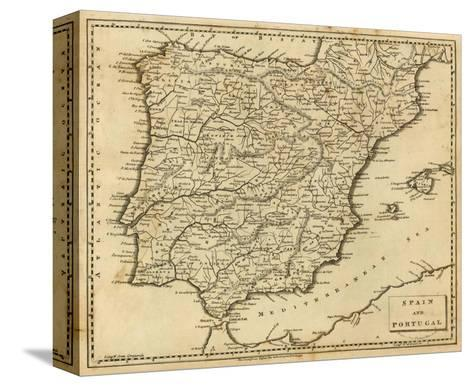 Spain, Portugal, c.1812-Aaron Arrowsmith-Stretched Canvas Print