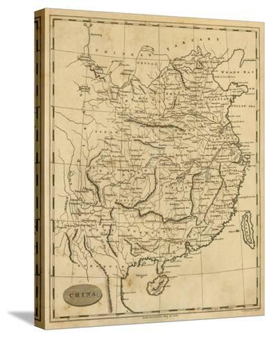 China, c.1812-Aaron Arrowsmith-Stretched Canvas Print
