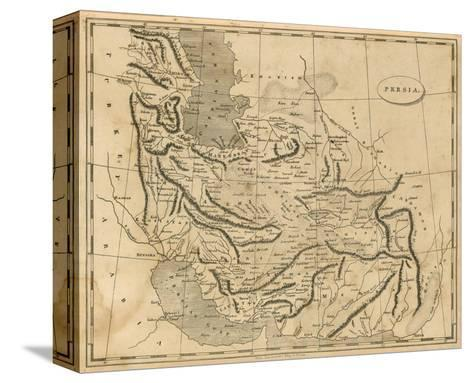 Persia, c.1812-Aaron Arrowsmith-Stretched Canvas Print