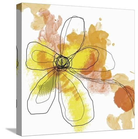 Butterfly Flower II-Jan Weiss-Stretched Canvas Print
