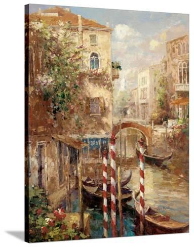 Venice Canal I-Peter Bell-Stretched Canvas Print