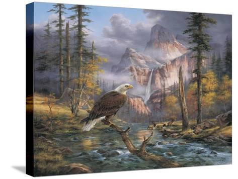 Eagles Perch-Rudi Reichardt-Stretched Canvas Print