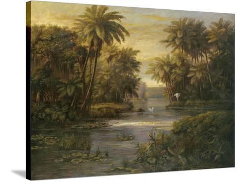 Lagoon at Daybreak-Montoya-Stretched Canvas Print