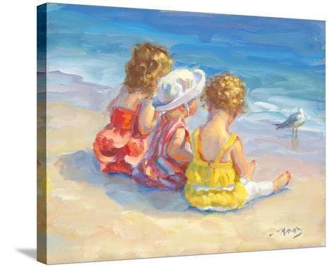 Three Little Maids-Lucelle Raad-Stretched Canvas Print