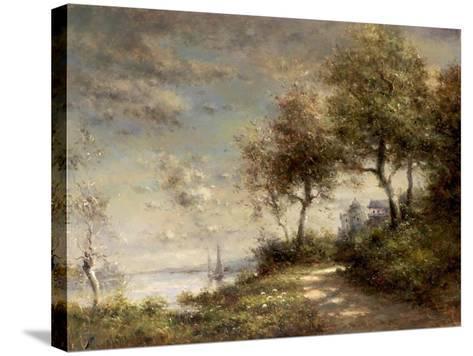 Caminno di Mare--Stretched Canvas Print
