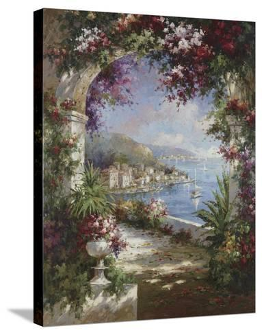 Floral Vista-Jerome-Stretched Canvas Print