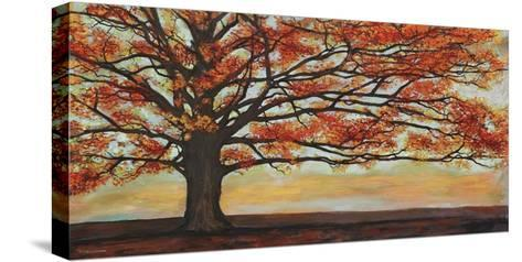 Red Oak-Jan Eelder-Stretched Canvas Print