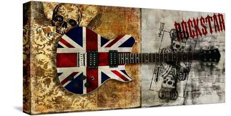Rockstar-Steven Hill-Stretched Canvas Print