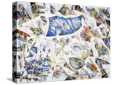 Almeno una volta, 1992-Nino Mustica-Stretched Canvas Print