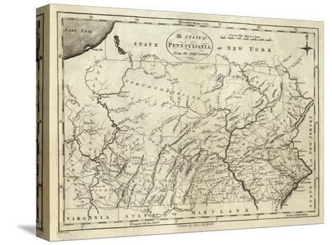 State of Pennsylvania, c.1796-John Reid-Stretched Canvas Print