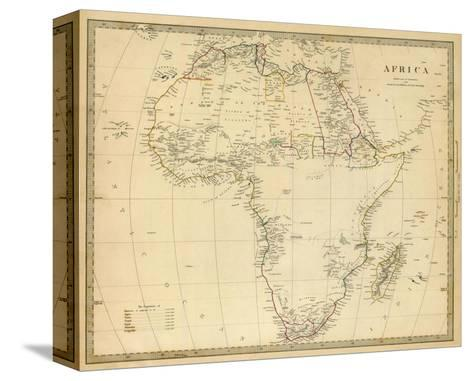 Africa, c.1839--Stretched Canvas Print