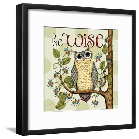 Be Wise-Karla Dornacher-Framed Art Print