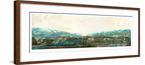 Aqua I-Ferdos Maleki-Framed Art Print