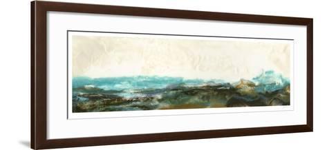 Aqua II-Ferdos Maleki-Framed Art Print