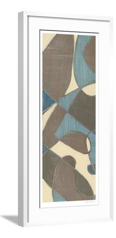 Muted Mod I-Jennifer Goldberger-Framed Art Print