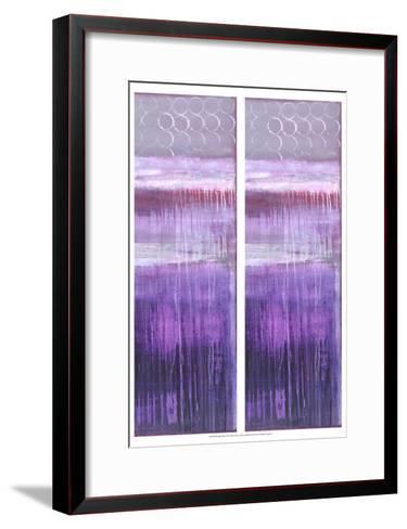 2-Up Purple Rain II-Erin Ashley-Framed Art Print