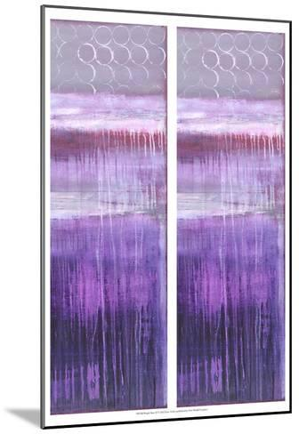 2-Up Purple Rain II-Erin Ashley-Mounted Art Print