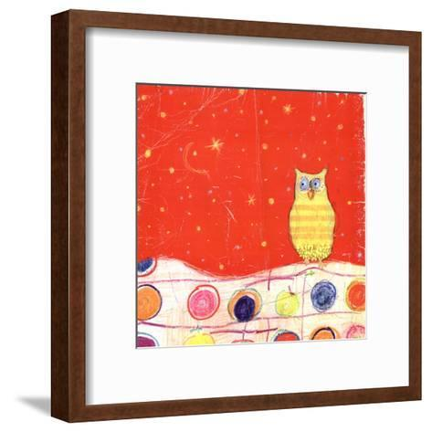 Feathers, Dots & Stripes I-Ingrid Blixt-Framed Art Print