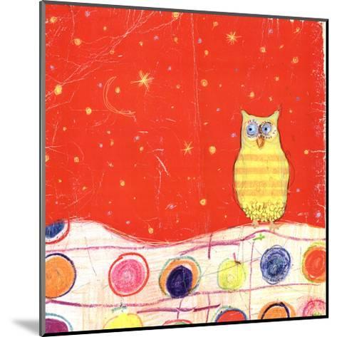 Feathers, Dots & Stripes I-Ingrid Blixt-Mounted Art Print