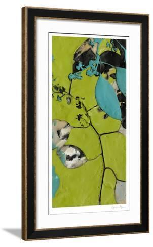 Leaf Extraction II-Jennifer Goldberger-Framed Art Print
