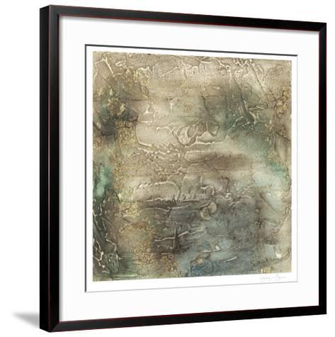 Lunar Surface I-Jennifer Goldberger-Framed Art Print