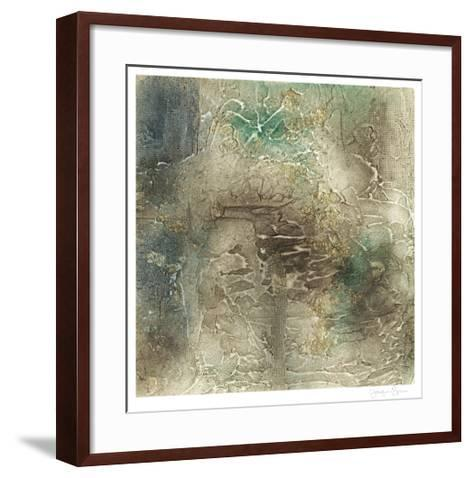 Lunar Surface II-Jennifer Goldberger-Framed Art Print