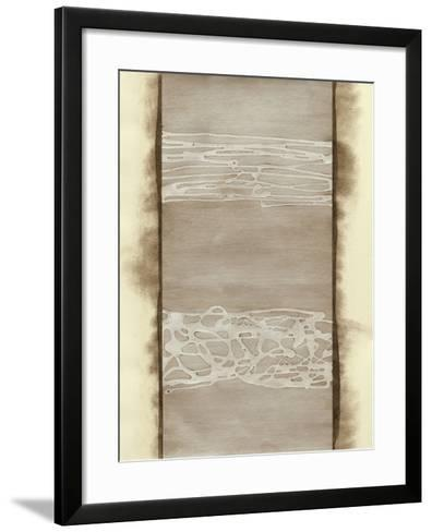 Metal Alloy in Pearl White-Renee W^ Stramel-Framed Art Print