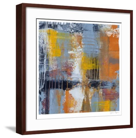 Urban Plan I-Jennifer Goldberger-Framed Art Print