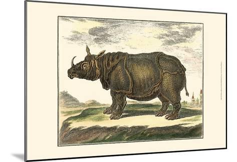 Diderot Rhino-Denis Diderot-Mounted Art Print