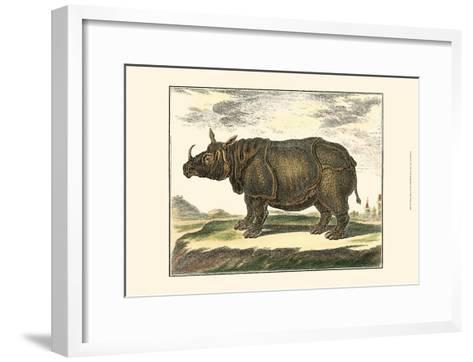 Diderot Rhino-Denis Diderot-Framed Art Print
