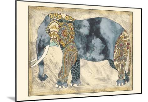 Royal Elephant-Chariklia Zarris-Mounted Art Print