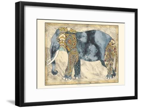Royal Elephant-Chariklia Zarris-Framed Art Print