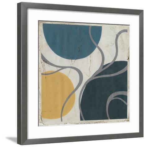 Orbital II-Erica J^ Vess-Framed Art Print