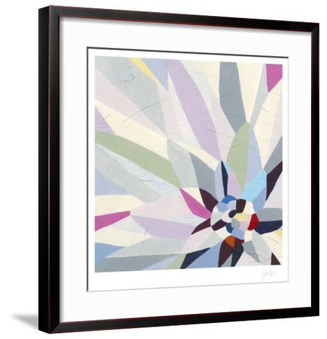Geometric Dahlia II-Erica J^ Vess-Framed Art Print