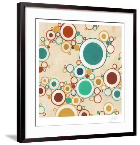 Molecular Landscape I-Erica J^ Vess-Framed Art Print