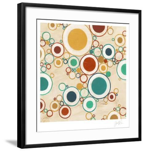 Molecular Landscape II-Erica J^ Vess-Framed Art Print