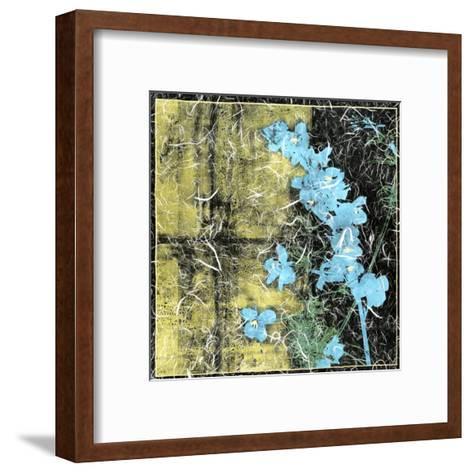 Small Floral Imprint II-Jennifer Goldberger-Framed Art Print