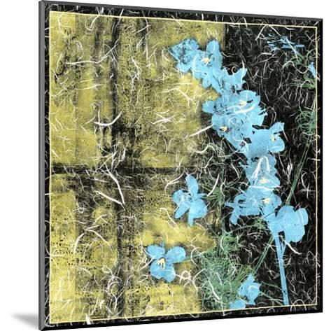 Small Floral Imprint II-Jennifer Goldberger-Mounted Art Print