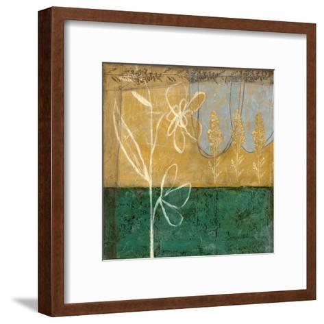 Small Pressed Wildflowers I-Jennifer Goldberger-Framed Art Print