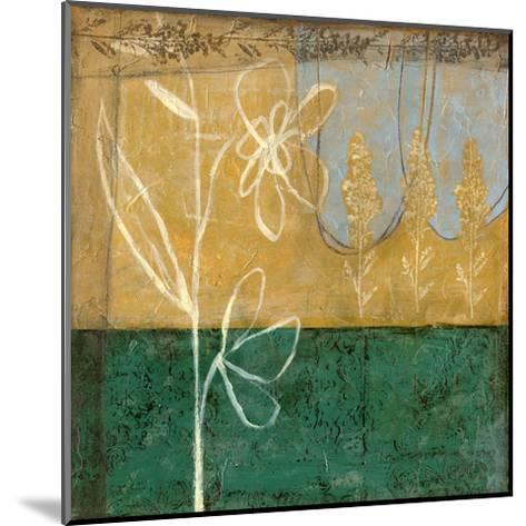 Small Pressed Wildflowers I-Jennifer Goldberger-Mounted Art Print
