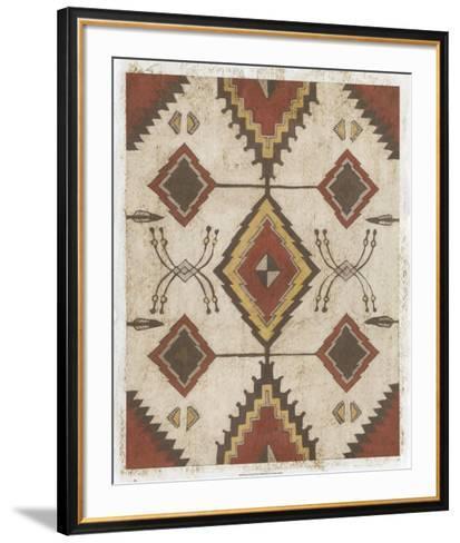 Native Design I-Megan Meagher-Framed Art Print