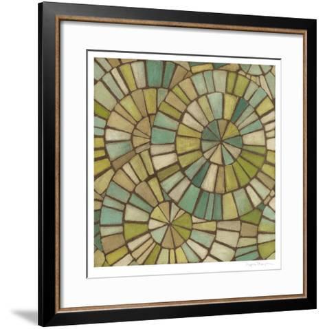Kaleidoscopic Sea II-Megan Meagher-Framed Art Print