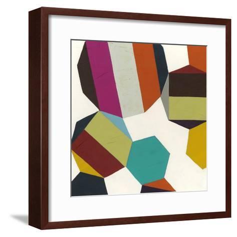 Poly-Rhythmic I-Erica J^ Vess-Framed Art Print