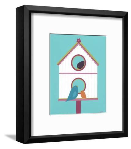 Home Tweet Home IV-Erica J^ Vess-Framed Art Print