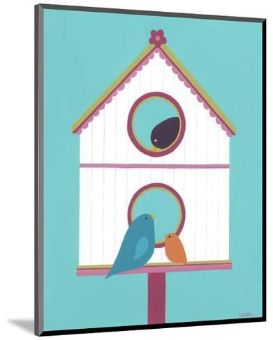 Home Tweet Home IV-Erica J^ Vess-Mounted Art Print