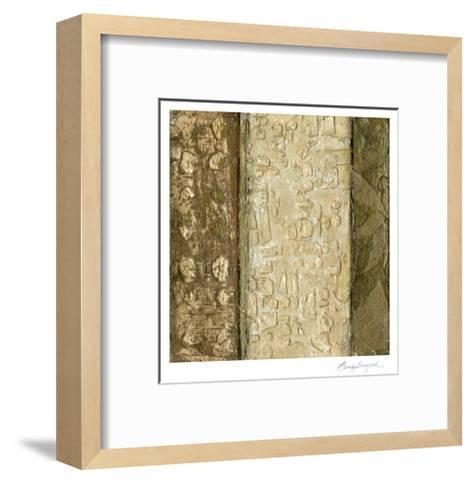 Earthen Textures X-Beverly Crawford-Framed Art Print