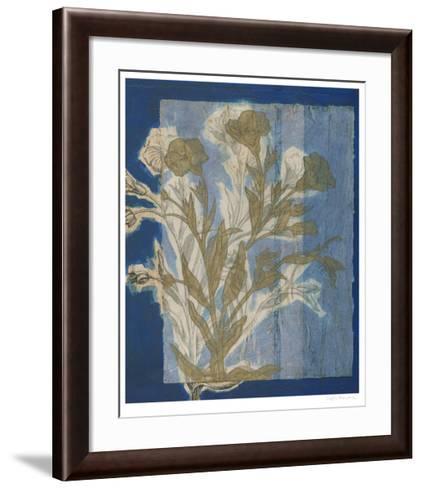 Santorini Floral II-Megan Meagher-Framed Art Print