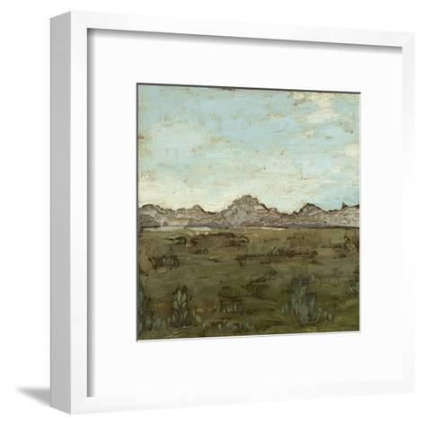 Western View IV-Megan Meagher-Framed Art Print