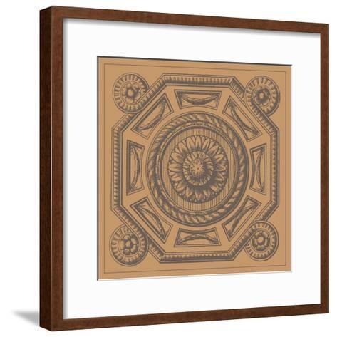 Terra Cotta Tile II--Framed Art Print