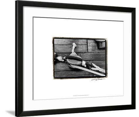 Ship Shape V-Laura Denardo-Framed Art Print